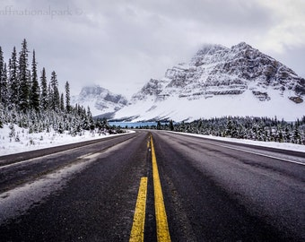 Icefields Parkway & Bow Lake Photography Print