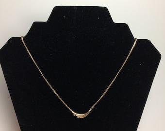 Vintage Avon Goldtone Chain Necklace