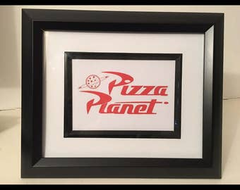 Pizza planet print, toy story print