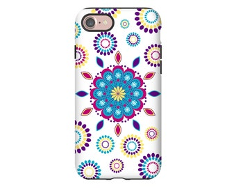 Mandala iPhone 8 case, bohemian iPhone 8 Plus case, iPhone 7/7 Plus case, iPhone X case, iPhone 6s Plus case/6s case, mandala phone case