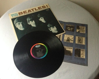 Rare 1964 Meet the Beatles Vinyl