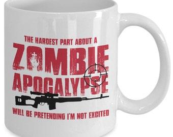 Zombie Apocalypse Zombie Mug