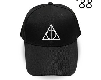 Deathly Hallows Baseball Cap Harry Potter Embroidery Hat Movie Cap Pinterest Instagram Tumblr