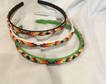 Navajo Beaded Hair Band