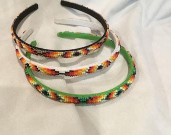 Navajo Beaded Hair Band