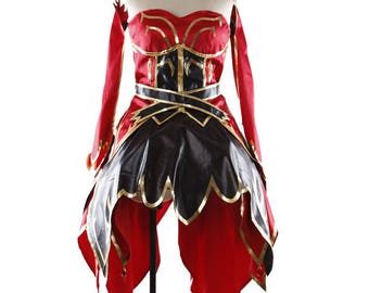 Lina Inverse the Slayer Dress Cosplay Costumes