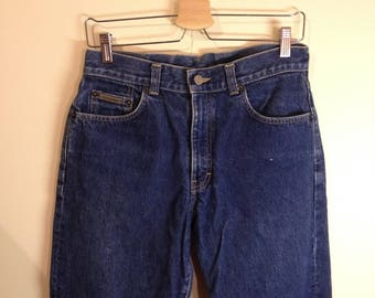 High waisted dark blue Calvin Klein Jeans size: 29