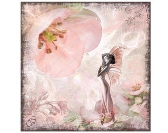 Quince Fairy Canvas