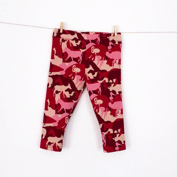 Baby and Girl Leggings PDF Sewing Pattern u2013 Instant download from shakalakabum on Etsy Studio