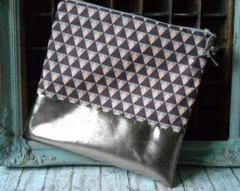 "Bag / clutch ""Geometric"""
