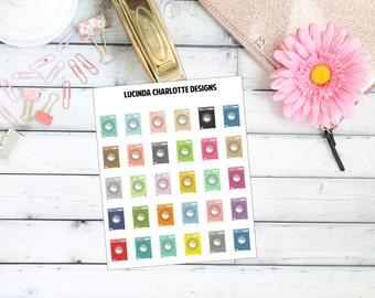 Washing Machine Laundry - Planner Stickers