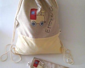 Preschool backpack bag