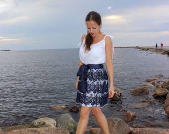 The top skirt, lace skirt, Верхняя юбка, кружевная юбка, Skirt, юбка.