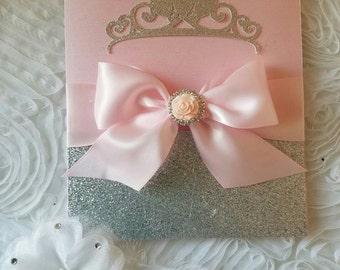 Princess invitation!!! Sweet 16/Quinceañera/Birthday/wedding