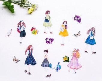 Pretty Girls Sticker Set - Planner/Journal/Scrapbooking