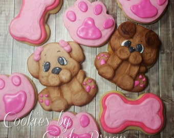 Puppy Love Cookie Cutters