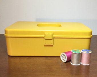 1970's Sewing Thread Box By Wilhold of Sunbury Pennsylvania