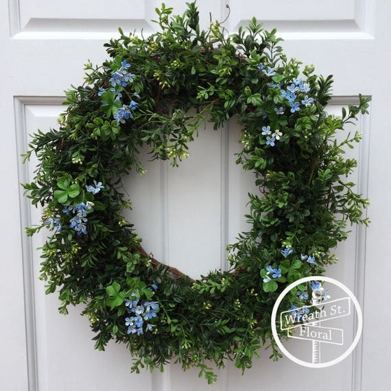 Boxwood Wreath, Summer Wreath, Year Round Wreath, Wreath Street Floral, Wreath, Everyday Wreath, Grapevine Wreath, Spring Wreath
