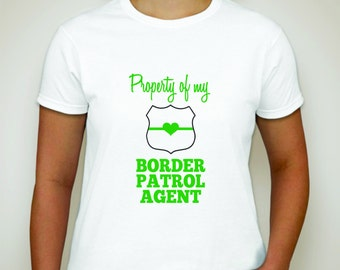 Border Patrol T-shirt- Law Enforcement T-shirt