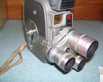Vintage Keystone 8mm Movie Camera K-26x-FOR DECOR ONLY