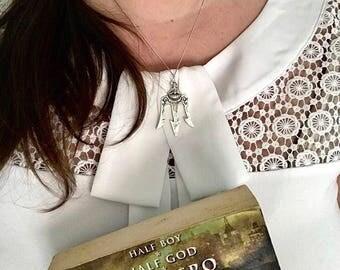 Percy Jackson necklace    Camp half-blood necklace