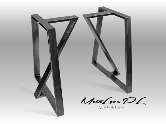 28 tedoz iron table legs height 26. Black Bedroom Furniture Sets. Home Design Ideas