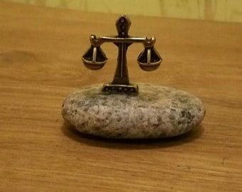 zodiac figurine/Libra decor/miniature metal Libra/metal statuettes/zodiac/