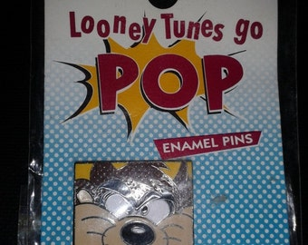 Looney Tunes go pop Enamel Pin - Tasmanian Devil (1995)