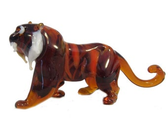 "The figurine from a glass ""tiger"""