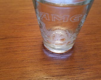 Vintage CAMEL  shot glass