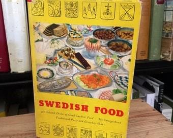 Swedish Food Vintage Cookbook 1957