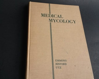 Medical Mycology Book, Medical reference book  -BB1