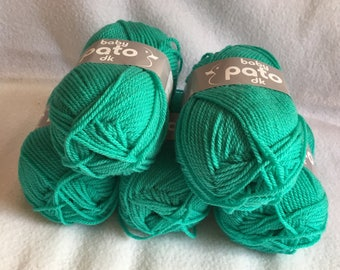 Cygnet Pato baby yarn - Aqua - 5 x 50g balls