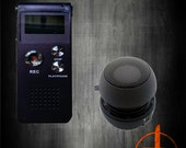 e.v.p. spirit voice recorder  mini speaker paranormal ghost hunting equipment science research