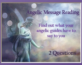 Angel Card Psychic Reading 2 Questions PsychicLoveHealing by Isabella