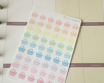 Shopping Planner Stickers