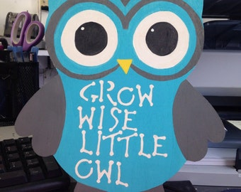 Grow Wise Little Owl