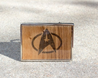 Star Trek Inspired Belt Buckle