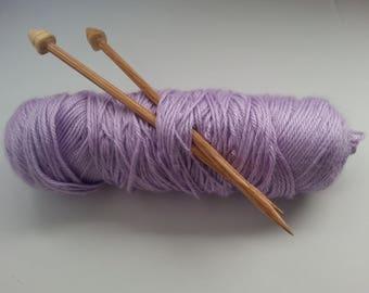 Handmade Wooden Knitting Needles