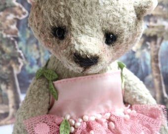 Teddy Bear / Plush Bear / Plush Toy / Author's Toy / Collection toy / Handmade / Toy Bear / Vintage / OOAK / Old School / Stuffed Animal