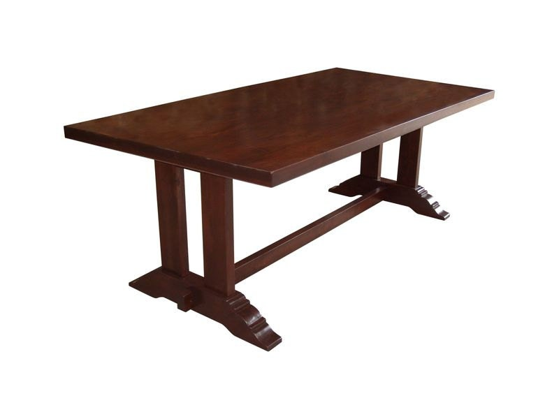 Trestle Table handmade in Alder : ilfullxfull1093147696dx13 from www.etsy.com size 800 x 600 jpeg 29kB