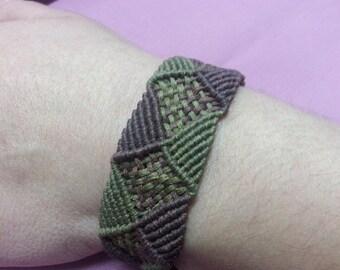 Square & Triangle Bracelet