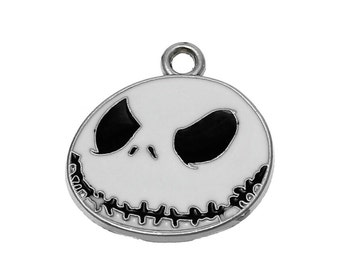 Jack Skellinton Nightmare Before Christmas Inspired Charm DIY for Necklace Bracelet Projects