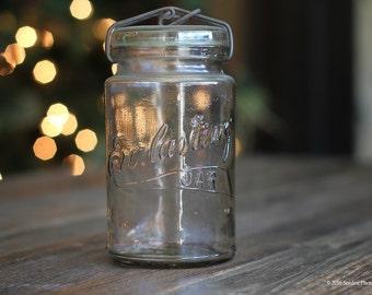 Vintage Everlasting Mason Jar - Canning Jar
