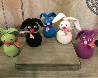 Rice Sock Bunny - Lavender Scented