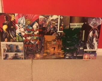 Wall art, batman, dc., marvel, art, canvas, comic, comic art