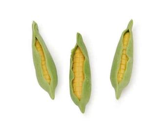 Miniature Ears of Corn, 3 Pieces