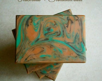 Oakmoss + Sandalwood Silk Soap