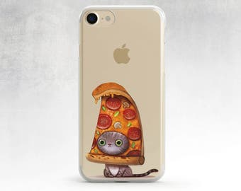 Iphone 6 Plus Case Cat Iphone 7 Plus Case Pizza Cat Iphone 7 Case Iphone 6s Case Funny Iphone Case Pizza Samsung S6 Case Cat S7 Edge Cat S5