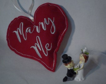 Say it with heart, heart with message, message, saying, embroidered, Valentine's day, wedding, engagement, love, friends, thank you, conclusion
